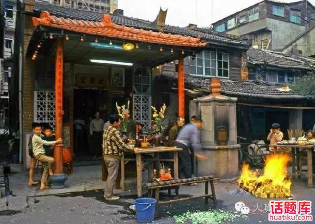 聊聊1980年代蒋经国统治下的美丽台湾老照片